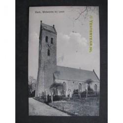 Midwolde 1917 - Kerk - bij Leek