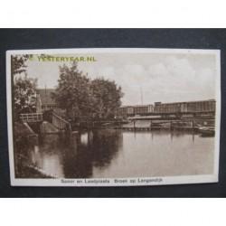 Broek op Langendijk 1953 - Spoor en laadplaats