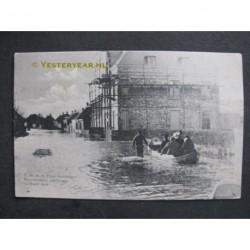 Kloosterzande 1906 - koninklijk bezoek - overstromingen
