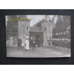 Zwolle 1913 - Koninklijk bezoek - fotokaart