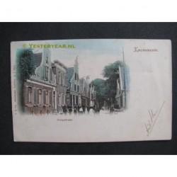 Krommenie 1902 - Dorpstraat