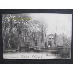 Krommenie 1902 - aan het water