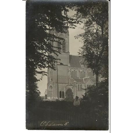 Obdam 1917 - Kerk - fotokaart