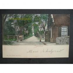 Zandvoort 1903 - Tolweg met tolhuisje