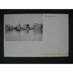 Zaandam 1900 - Zaan - sluizen