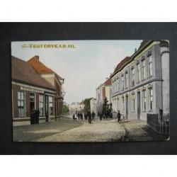 Goor 1917 - Spoorstraat met Stationskoffiehuis