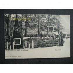 Soestdijk ca. 1905 - gedenkteken van Pullman