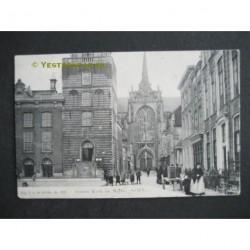 Goes 1905 - Groote Kerk en Markt
