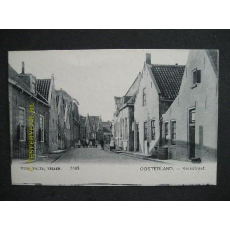 Oosterland ca. 1905 - Kerkstraat