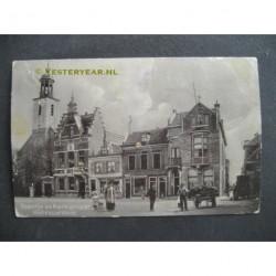 Hellevoetsluis 1909 - Baantje en Kerkstraat