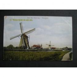 Maasland 1922 - aan den Kerkweg - molens