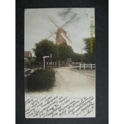 Voorburg 1902 - Achterweg met molen