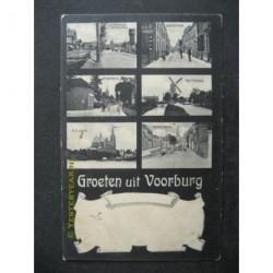 Voorburg 1907 - groeten uit