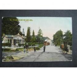 Beek 1909 - stoomtram met halte
