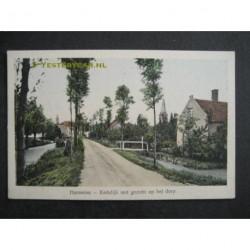 Harmelen ca. 1915 - Kerkdijk met gezicht op dorp