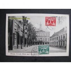 Weesp 1926 - Groote Plein met Stadhuis