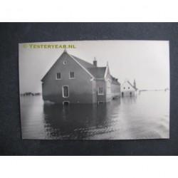 Slootdorp 1945 - Wieringermeer onder water