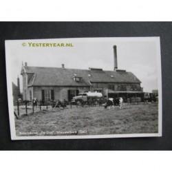 Nieuwerkerk 1948 - Boterfabriek de Duif