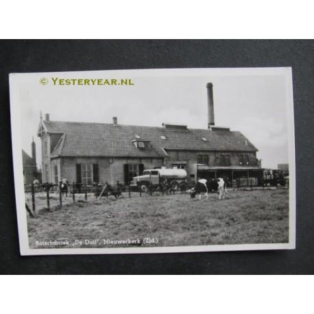 De Duif Sneek.Nieuwerkerk 1948 Boterfabriek De Duif