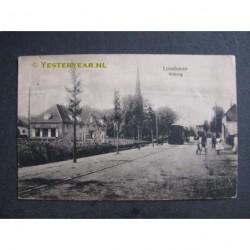 Loosduinen Wittbrug met stoomtram