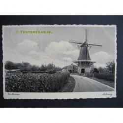 Voorthuizen 1935 - Molenweg - molen