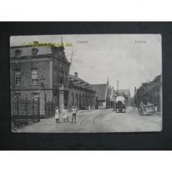 Gemert 1915 - Kerkstraat en gemeentehuis