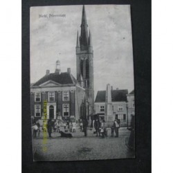 Princenhage 1918 - Markt
