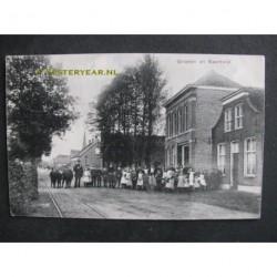 Baardwijk 1911 - groeten uit - dorpsstraat