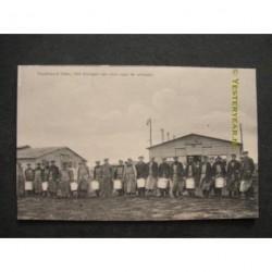 Uden ca. 1915 - Vluchtoord eten naar de eetzalen