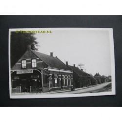 Halsteren 1948 - Tramstation Vogelenzang - fotokaart