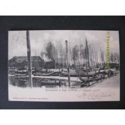 Lage Zwaluwe 1904 - Havengezicht