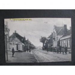Ossendrecht 1913 - groeten uit - dorspsstraat