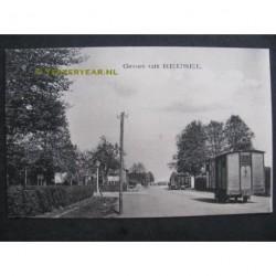 Reusel ca. 1910 - groet uit - grensovergang