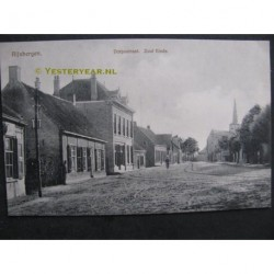 Rijsbergen ca. 1910 - Dorpsstraat Zuid Einde