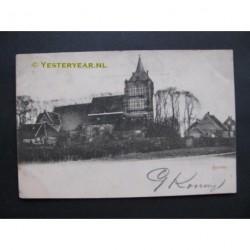 Sprang 1903 - gezicht op Kerk