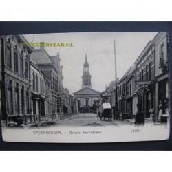Steenbergen ca. 1905 - Groote Kerkstraat