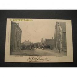 Waspik 1905 - Postkantoor en Klooster