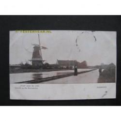 Harmelen 1904 - gezicht op de korenmolen- de Verwachting