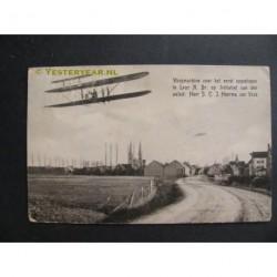 Leur 1909 - 1ste vlucht - vliegtuig te Leur
