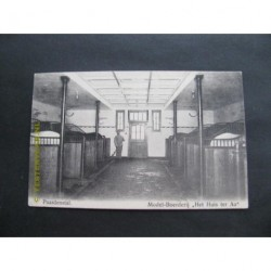 Doorwerth ca. 1915 - Modelboerderij paardenstal