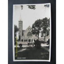 Waalre 1937 - Markt - kerk