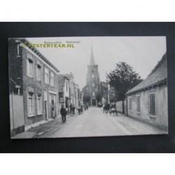 Numansdorp ca. 1915 - Kerkstraat