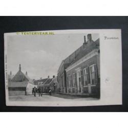 Poortvliet 1908 - Dorpsstraat met Pastorie