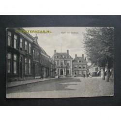 Doetinchem ca. 1915 - Markt met stadhuis