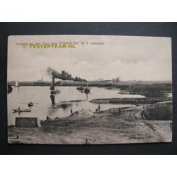 Doesburg ca. 1915 - gezicht op de IJssel