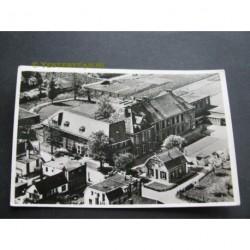 Zetten 1952 - Christelijke Normaalschool - luchtfoto