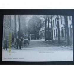 Teteringen ca. 1905 - Hotel Flora en Ginnekenweg