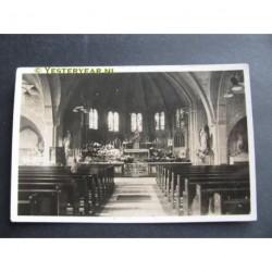 Renkum 1933 - Bedevaartskerk interieur