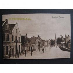 Fijnaart 1927 - groet uit - Voorstraat