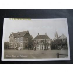 Ommen 1960 - Markt en Postkantoor